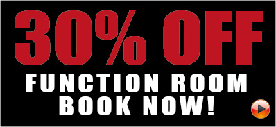 30% off Function Room